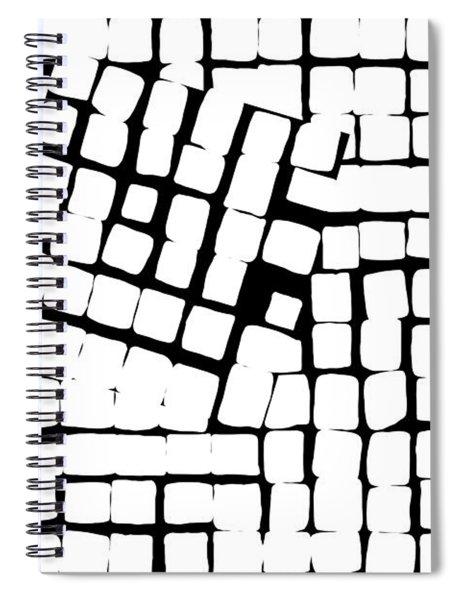 Internal Square Spiral Notebook