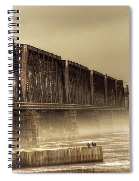 International Bridge Spiral Notebook