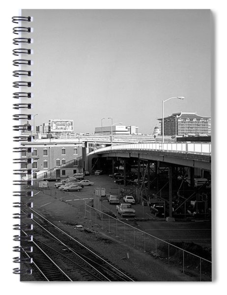 Interstate 5 From I Street Spiral Notebook