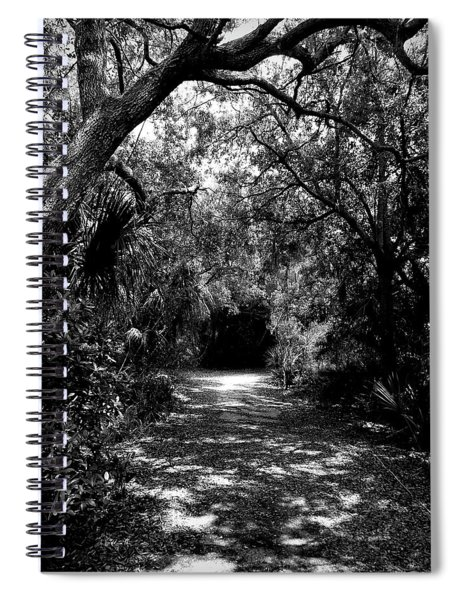 Into The Darkness Spiral Notebook