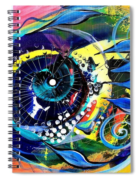 Into The Pink Spiral Notebook