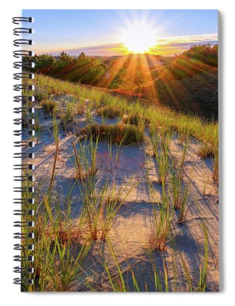 Into The Sun, Crane Beach Spiral Notebook