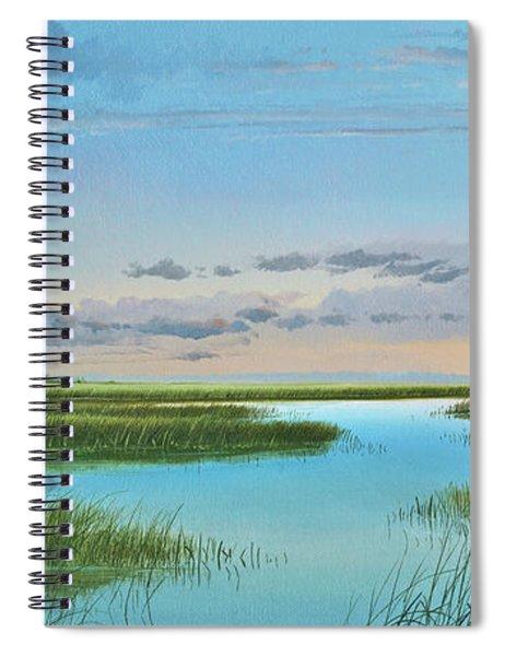 Intracoastal Sunset Spiral Notebook