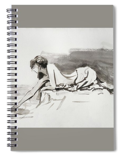 Introspection Spiral Notebook by Steve Henderson