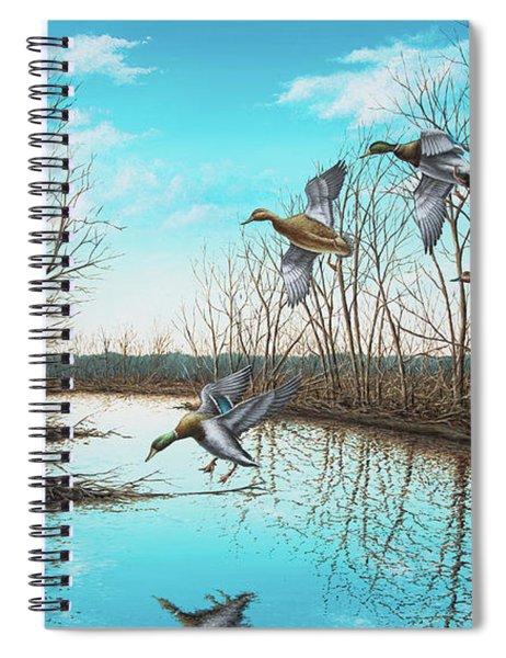 Intruder Spiral Notebook