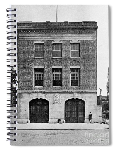 Inwood Firehouse 1918 Spiral Notebook