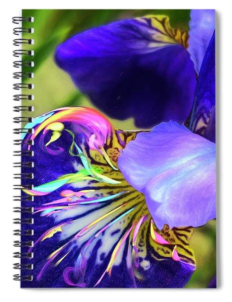 Iris Osirus Spiral Notebook