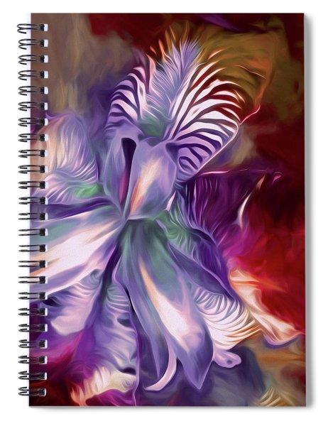 Iris Splendor 12 Spiral Notebook