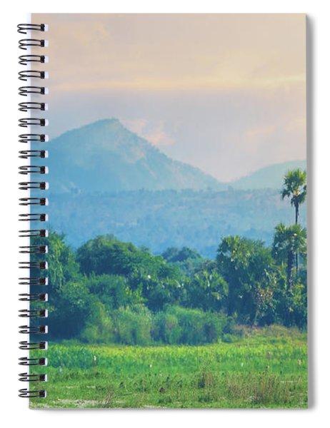 Irrawaddy Landscape Spiral Notebook