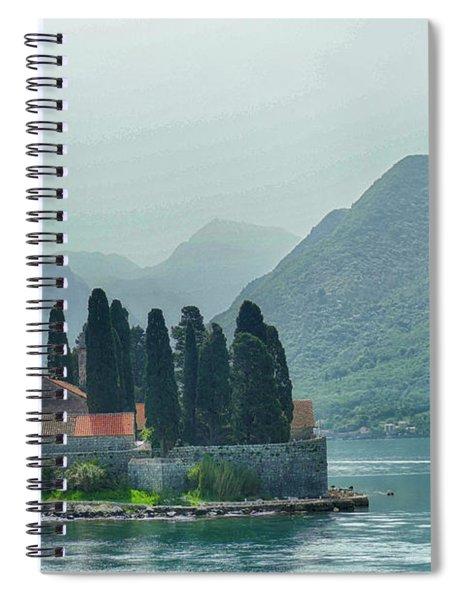 Island Church Of St George Spiral Notebook