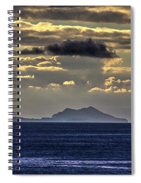 Island Cloud Spiral Notebook
