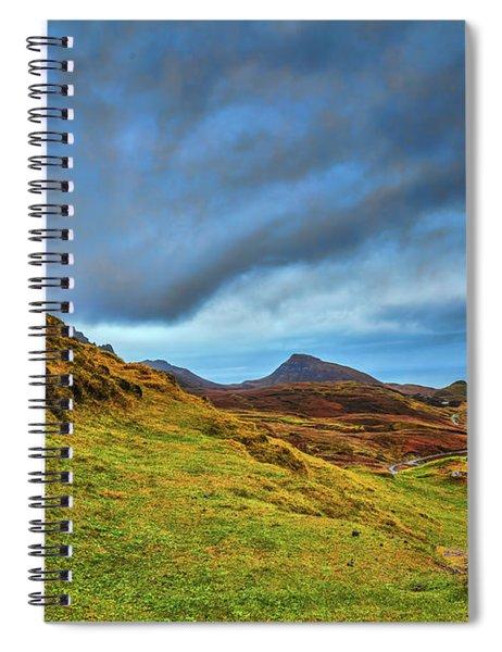 Isle Of Skye Landscape #i1 Spiral Notebook