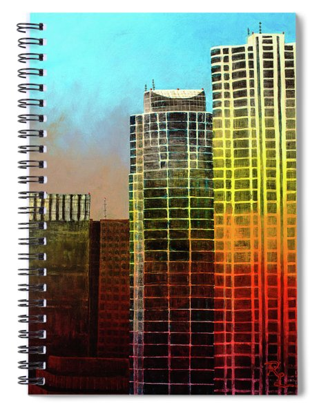 It Takes A Rainbow Spiral Notebook
