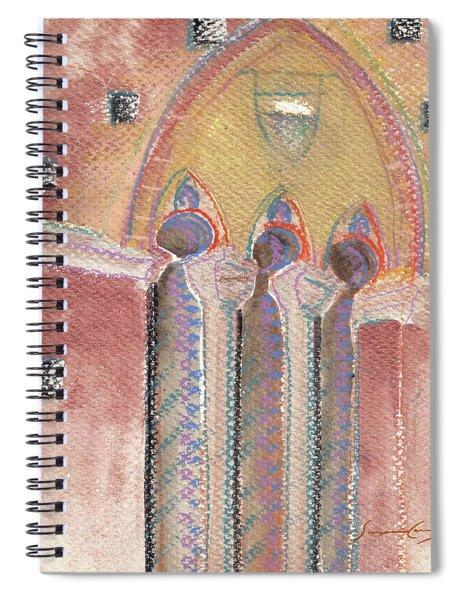 Italian Arch Spiral Notebook