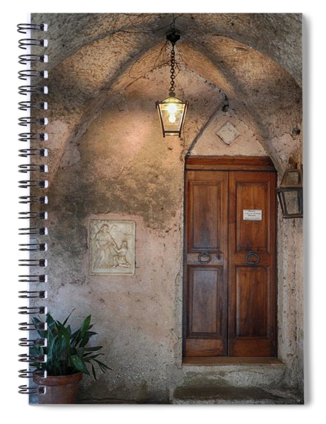 Italian Charm Spiral Notebook