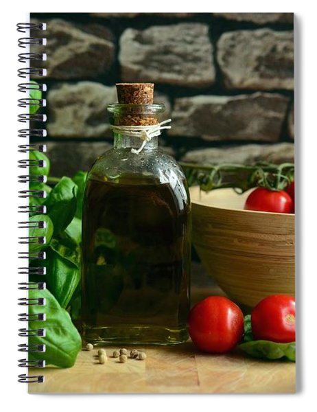 Italian Ingredients Spiral Notebook
