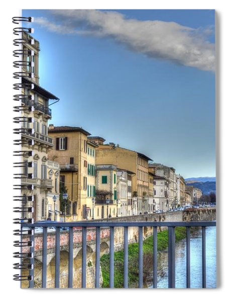 Italy River Spiral Notebook