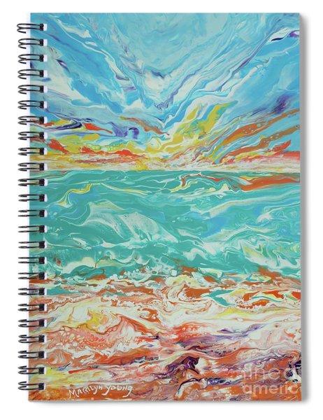 It's A Beach Day Spiral Notebook