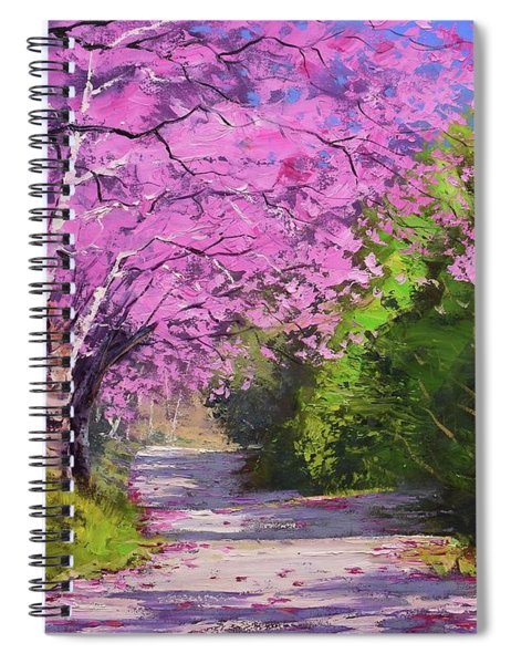 Jacaranda Trees Spiral Notebook