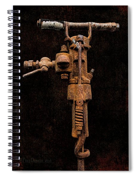 Jack Hammer Spiral Notebook