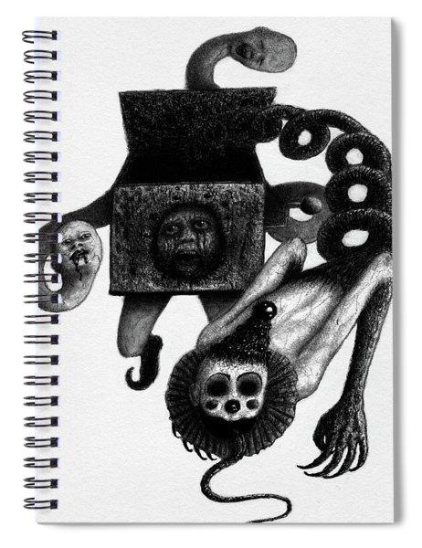 Jack In The Box - Artwork Spiral Notebook