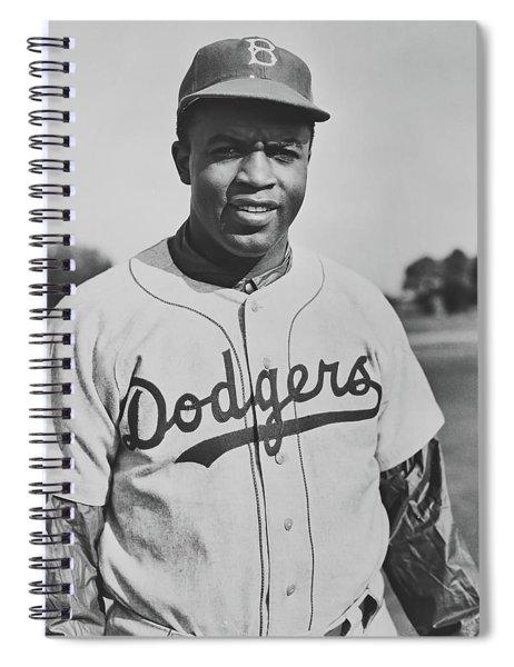 Jackie Robinson 1950 Spiral Notebook