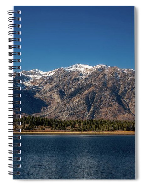Jackson Lake Wyoming Spiral Notebook