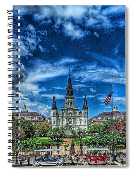 Jackson Square Nola Spiral Notebook