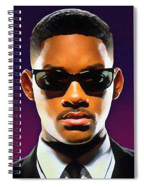 Jadas Man Spiral Notebook