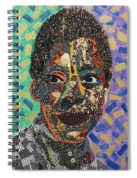 James Baldwin The Fire Next Time Spiral Notebook