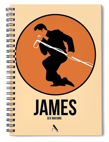 James Brown Spiral Notebook