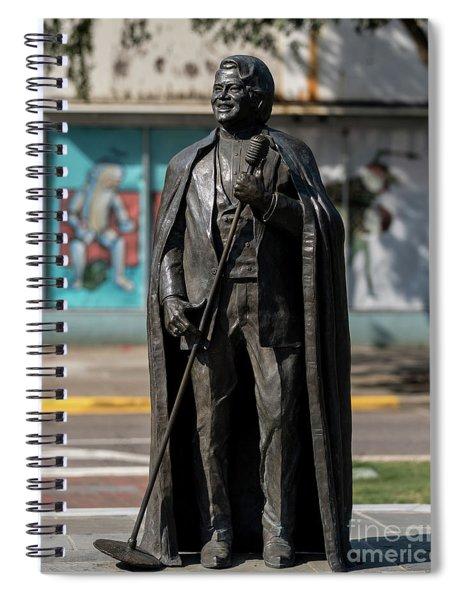 James Brown Statue - Augusta Ga 2 Spiral Notebook