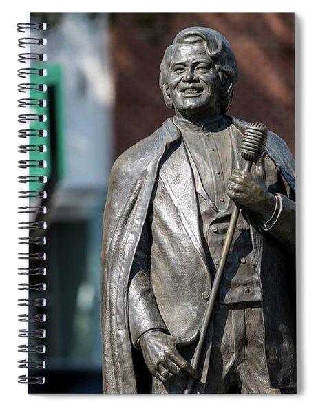 James Brown Statue - Augusta Ga Spiral Notebook