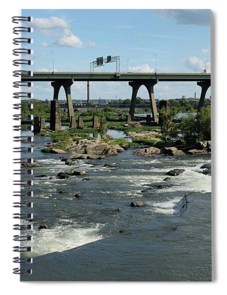 James River Rapids Spiral Notebook