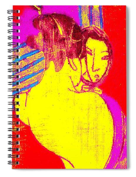 Japanese Pop Art Print 1 Spiral Notebook