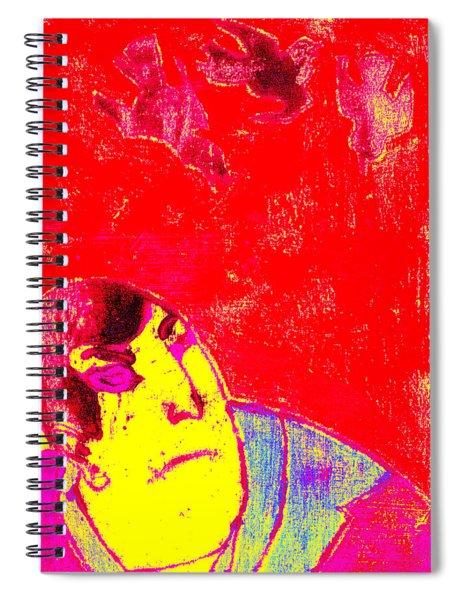 Japanese Pop Art Print 6 Spiral Notebook