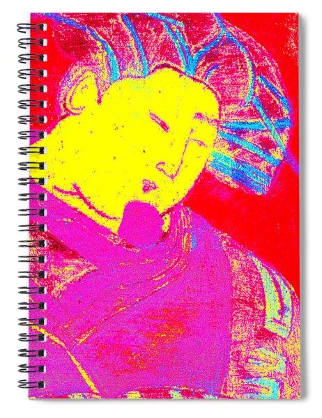 Japanese Pop Art Print 9 Spiral Notebook