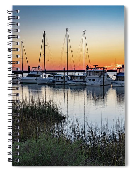 Jekyll Boats Spiral Notebook