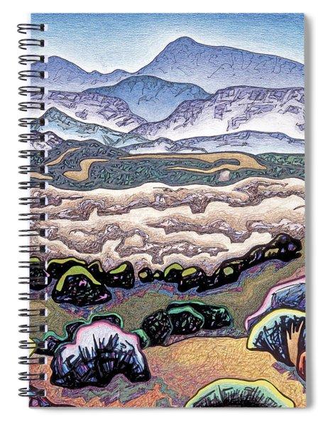 Jemez Mountains Spiral Notebook