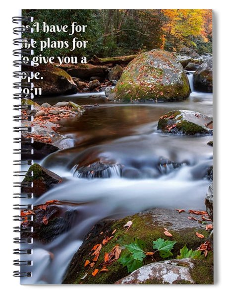 Jeremiah 29 And 11 Spiral Notebook
