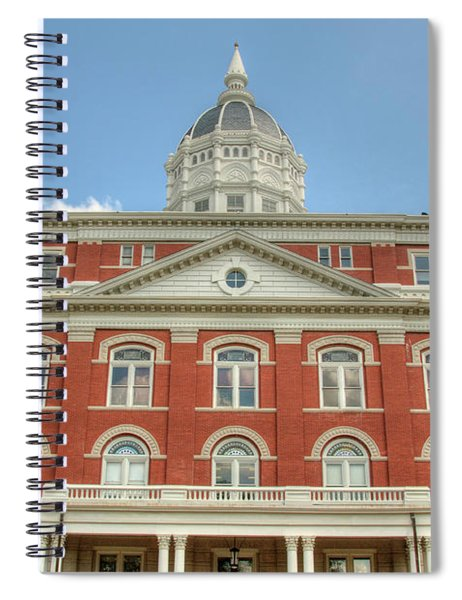 Jesse Hall Spiral Notebook