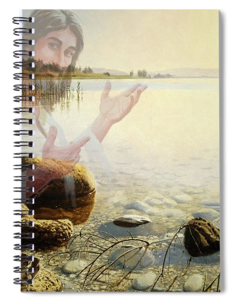 Jesus, Come Follow Me Spiral Notebook