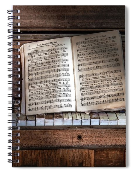 Jesus Lover Of My Soul Spiral Notebook