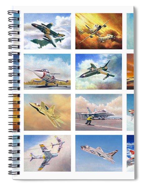 Jet Poster Spiral Notebook