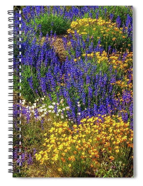 Jewels Of The Desert Spiral Notebook
