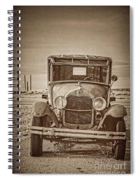 Jilted Jalopy Spiral Notebook
