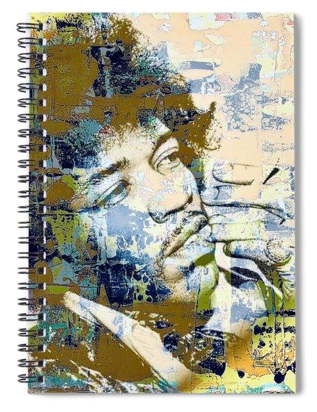 Jimi Soul Spiral Notebook