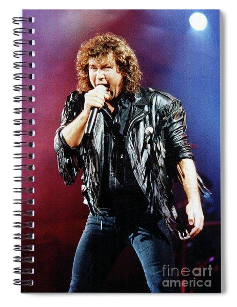 Jimmy Barnes 1988 Spiral Notebook