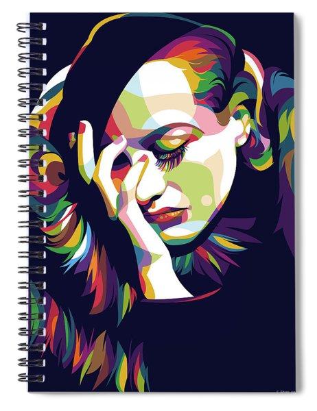 Joan Crawford Spiral Notebook