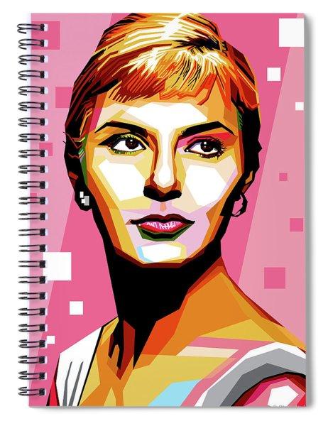Joanne Woodward Spiral Notebook
